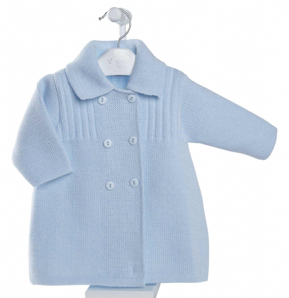 A2640 Boys knitted Baby Coat